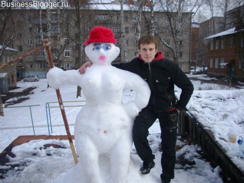 Снеговик-трансвестит