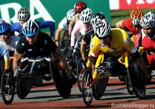 Инвалидные гонки