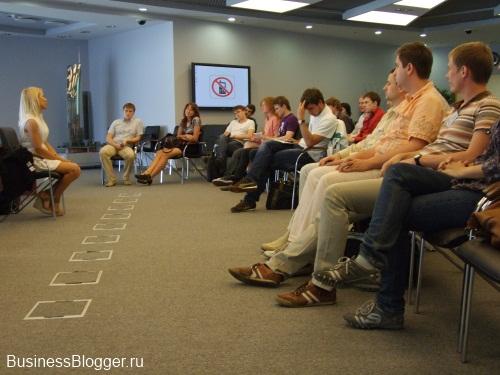 Встреча бизнес клуба с Аленой Поповой в башне Федерация