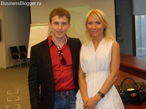 Миша Киль и Алена Попова