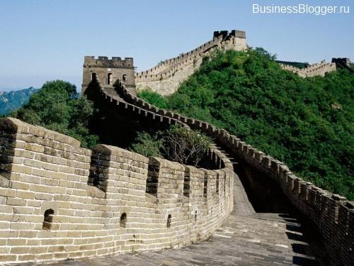 Китай. Китайская стена