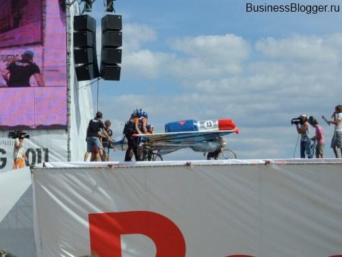Red Bull Flugtag 2011 в Москве, Строгино