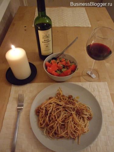 Поздний ужин