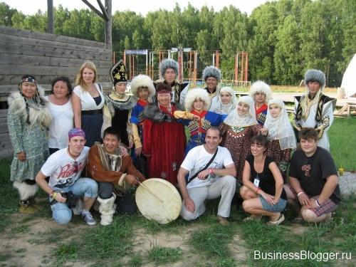 Международный молодежный лагерь Диалог 2011. Этномир.