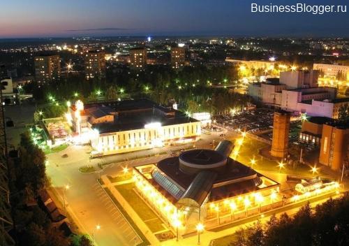 Ижевск, Центральная площадь, небольшой её кусочек