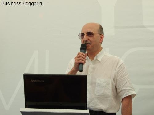 Давид Якобашвили «Какие ощущения и что мотивирует на дальнейшие шаги в бизнесе» (Селигер 2012, видео)