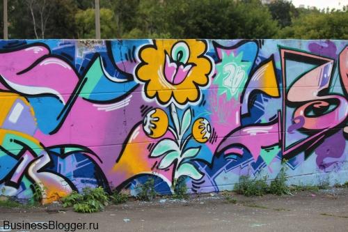 Фестиваль граффити Outline Jam 2012 в Ижевске