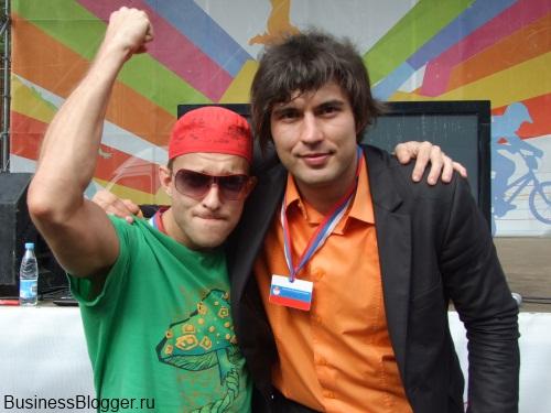 Бари Алибасов младший «Бизнес в Оффлайне» (Селигер 2012, видео)