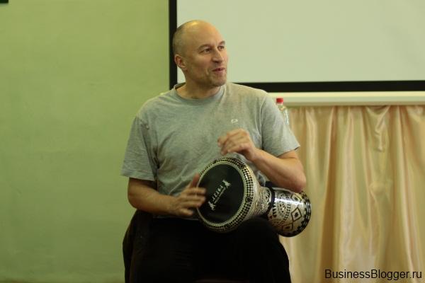 Антонио Грамши. Мастер-класс по дарбуке